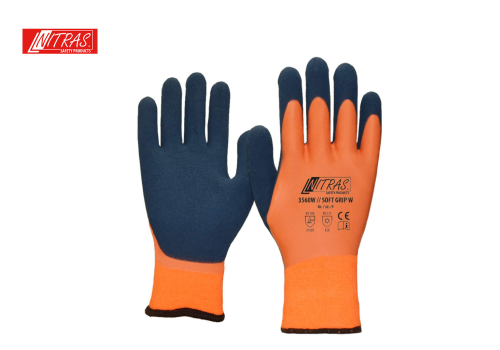 Winterhandschuh 3560W // SOFT GRIP W - orange