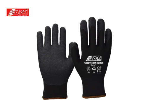 Winterhandschuh 1606W // SNOW FIGHTER - black