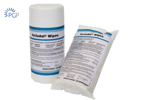 INCLUDAL® WIPES Refill Tücher inkl. Dose